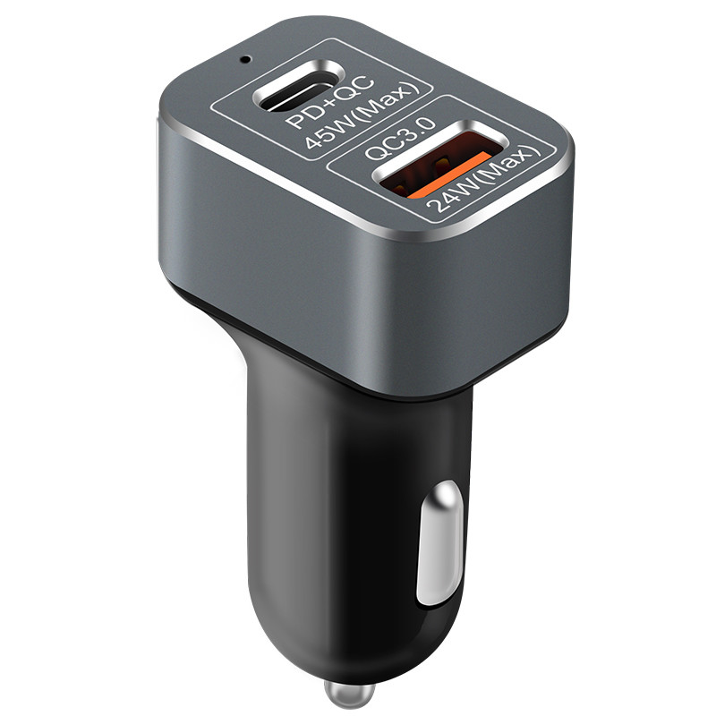 69W Type C  USB Quick Charge 3.0 Usb Pd Car Charger